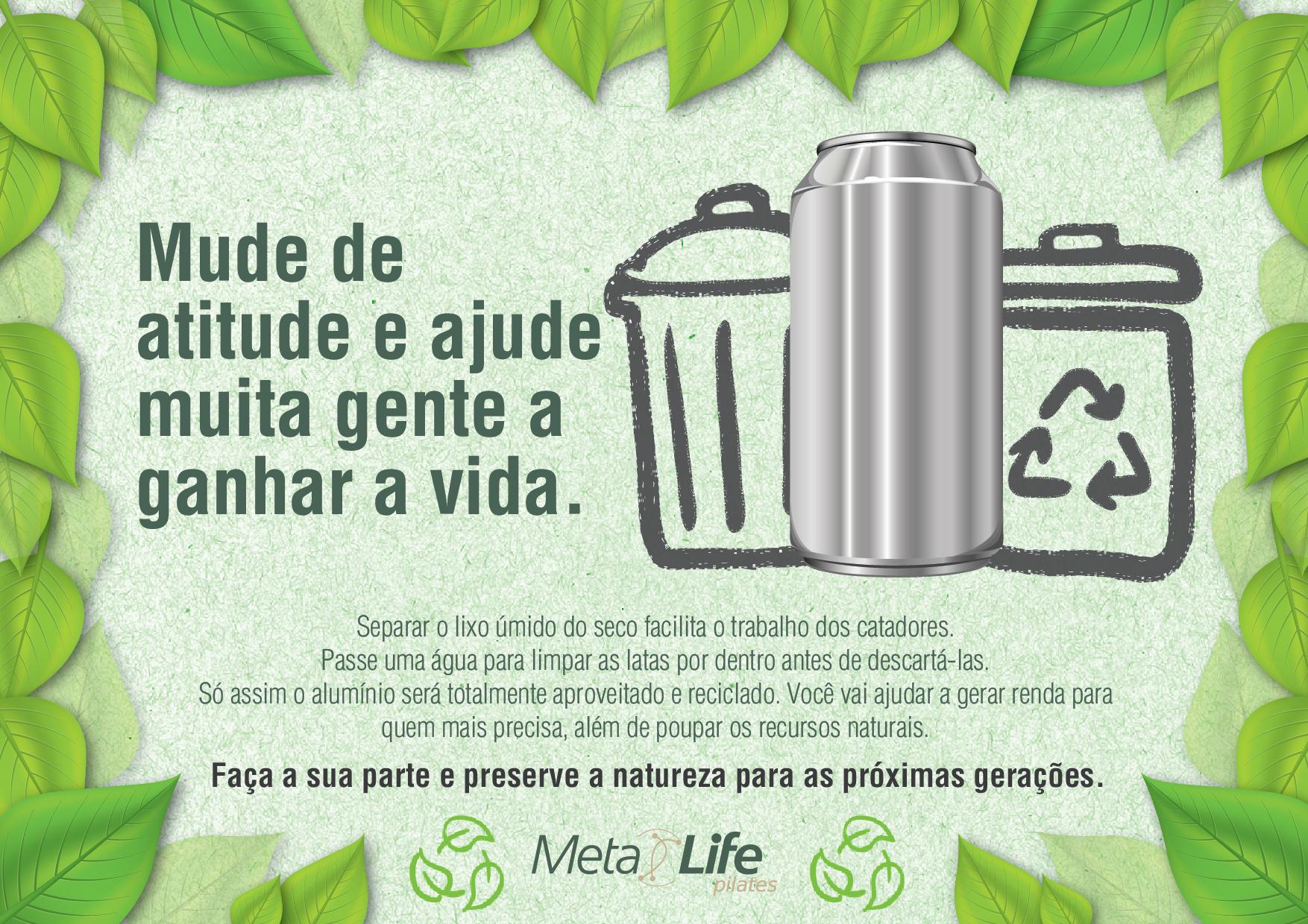 Reciclagem de alumínio-latas